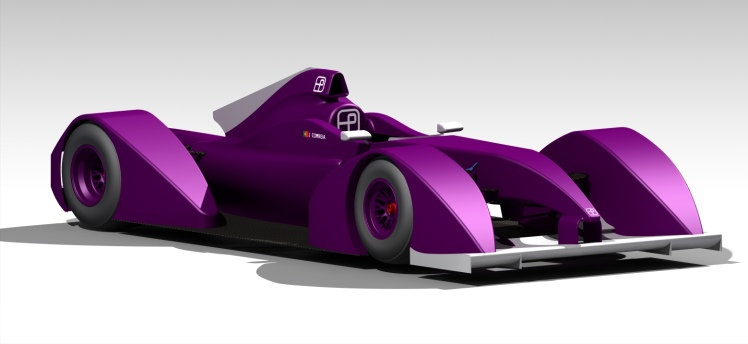 Preston Racing Formula E Concept 2012 FIA